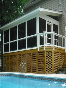 Screened Porches Naples Florida A 1 Quality Aluminum Inc